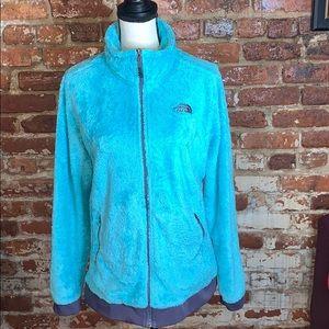 The North Face Teddy Bear Coat Blue USL